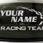 Custom782 Custom YOURNAMEHERE Racing Team Decal