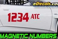 AutoCross Magnetic Numbers